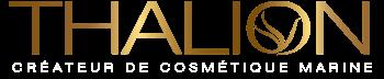 Thalion logo - a tengeri kozmetikumok szakértője